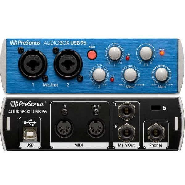 Presonus Audiobox usb 96 oficomputo