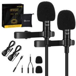Microfono Dual Solapa Eivotor